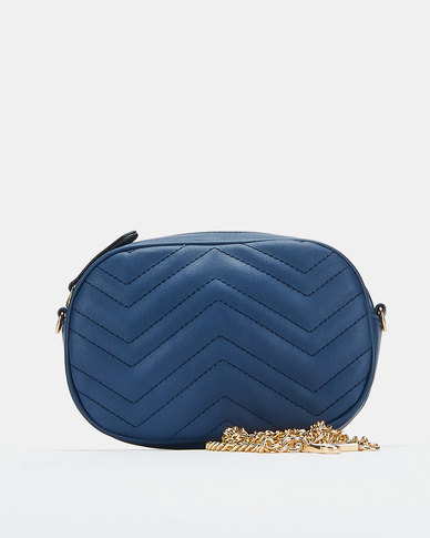 You & I Quilted Mutli-Way Crossbody Bad Navy