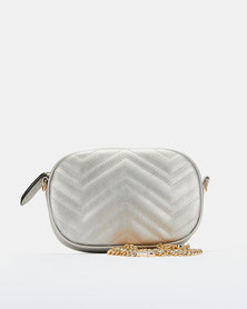You & I Quilted Mutli-Way Crossbody Bad Peweter