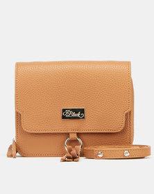 Miss Black Billa Crossbody Bag Tan