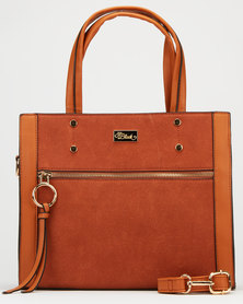Miss Black Capria Handbag Tan