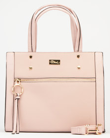 Miss Black Capria Handbag Pink