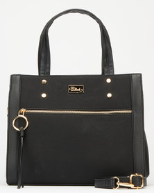 Miss Black Capria Handbag Black