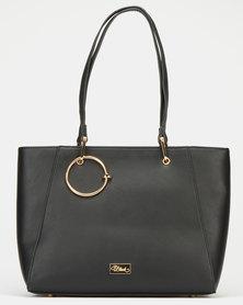 Miss Black Rizza Black Shopper Bag