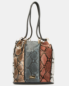 Miss Black Koletta Bucket Bag Multi