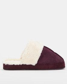 UK Fashion Slippers Berry