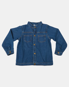 Utopia Boys Basic Demin Jacket Blue