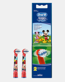 Refill Stages Kids Mickey Mouse Club House 2 Cartridges by Oral B