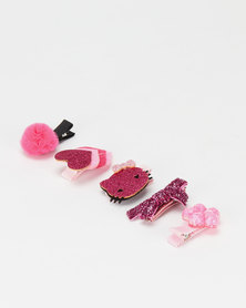 Utopia Kids Hair Accessories Pack Purple