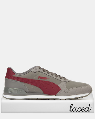 Puma Sportstyle Core Cindy ST Runner v2 NL Sneakers Charcoal Gray-Cordovan