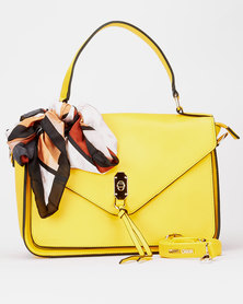 Queenspark Best Seller Small Scarf Bag Yellow