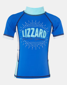 Lizzard Pre-Boys Napier Top Blue