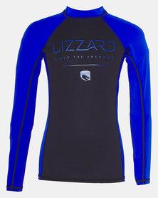 Lizzard Teen Boys Provo Top Blue