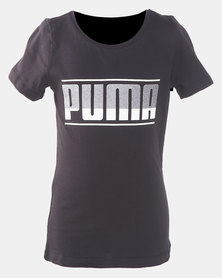 Puma Sportstyle Core Graphic Cotton Tee Black
