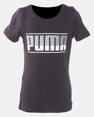 Puma Sportstyle Core Graphic Cotton Tee Black