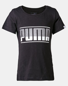 Puma Sportstyle Core Style Graphic Cotton Tee Black