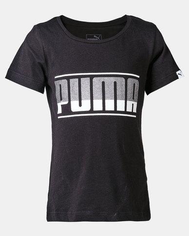 Puma Sportstyle Core Style Graphic Cotton Tee Black