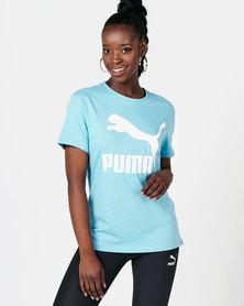 Puma Sportstyle Prime Classics Logo Tee Milky Blue