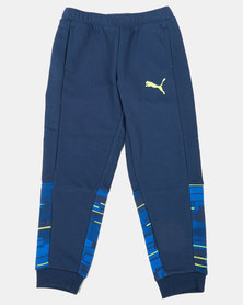 Puma Sportstyle Core Hero Sargasso Sea Track Pants Blue