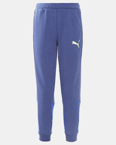 Puma Sportstyle Core Hero Sargasso Sea Track Pants Blue