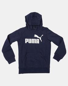 Puma Sportstyle Core Peacoat ESS No.1 Hoodie Blue