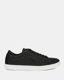 Gas Footwear Low Cut Grid Glitt_01 Sneakers Black