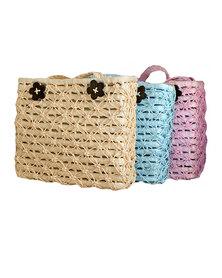 Fino 3Pcs Piece Straw Woven Beach Bag