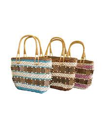 Fino 3Pcs Straw Beach /Shopping Bag