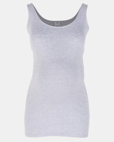 Hannah Grace Maternity Grey Breastfeeding Vest