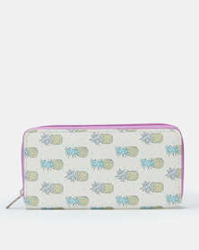 Utopia Sunglass Pineapple Purse Multi
