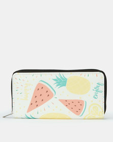 Utopia Pineapple & Watermelon Purse Multi