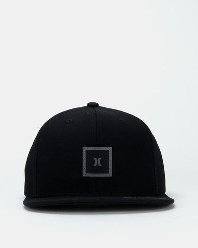 Hurley Storm Icon Flat Hat Black