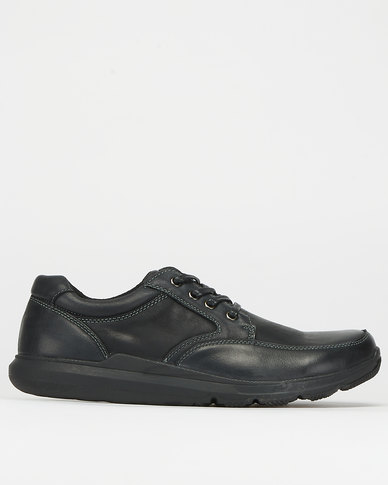Step On Airs Victor Casual Lace Up Shoes Black