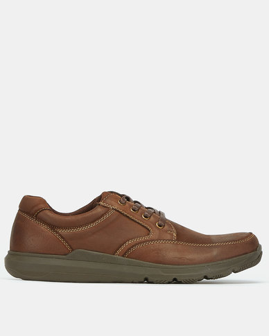 Step On Airs Victor Casual Lace Up Shoes Coffee