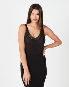 Paige Smith Lace Bodysuit Black