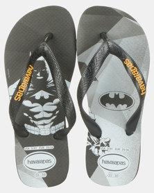 Havaianas Kids Top Hero DC Batman Sandals Black