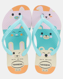 Havaianas  Kids Slim Fun Sandals Pink