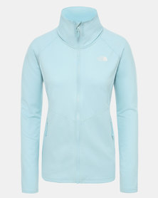 The North Face Quest grid midlayer Blue