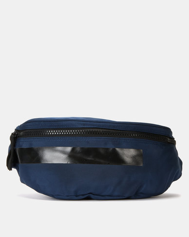 Joy Collectables Bulky Zip Fashion Waistbag Navy