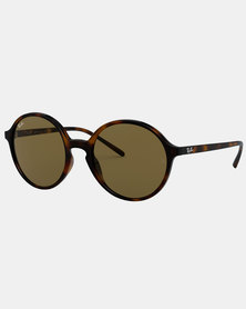 Ray-Ban RB4304 Havana Sunglasses Dark Brown