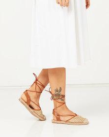 Butterfly Feet Roxanne Sandals Beige