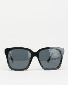 Black Lemon Square Sunglasses Black