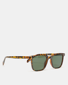 Black Lemon Wayfare Sunglasses Tortoise Shell