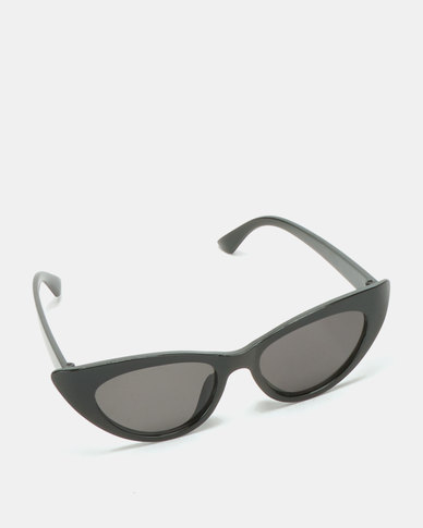 Black Lemon Cat Eye Sunglasses Black