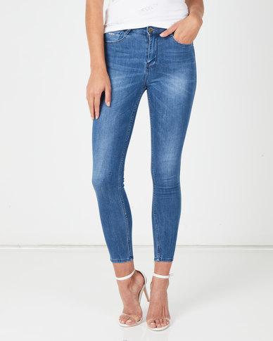Sissy Boy Med Vintage Diversity Ryder Skinny Jeans Blue