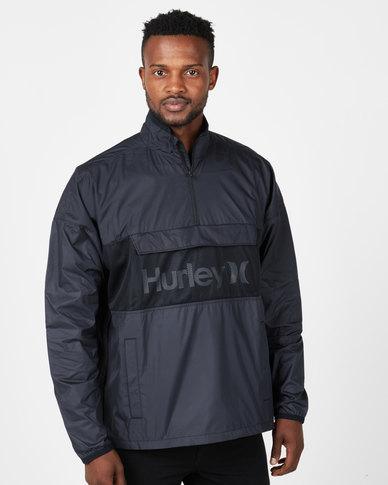 Hurley Siege Anorack Jacket Black
