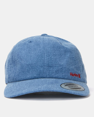 Hurley Andy Ripstop Hat Blue