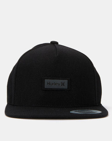 Hurley One & Only Boxed Reflective Hat Black