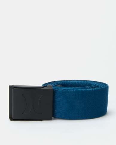 Hurley Web Belt Blue