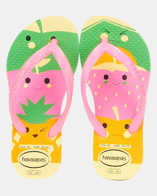 Havaianas Kids Slim Fun Sandals Purple