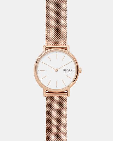 Skagen Signature SS Watch  Rose Gold